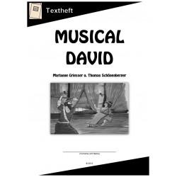 Musical David Textheft
