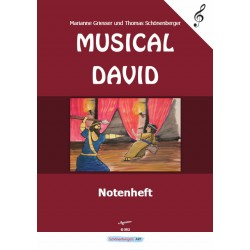 Notenheft Musical David