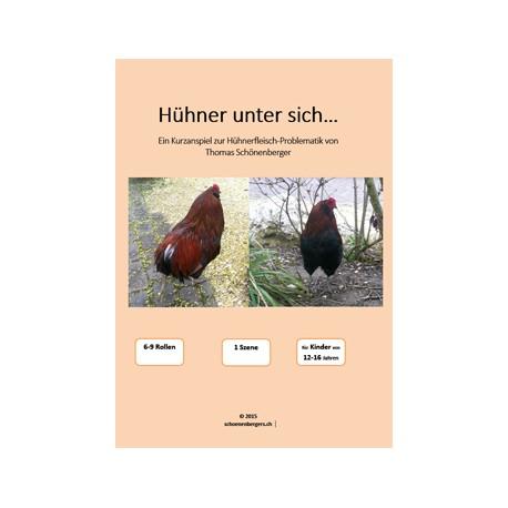 Hühner unter sich